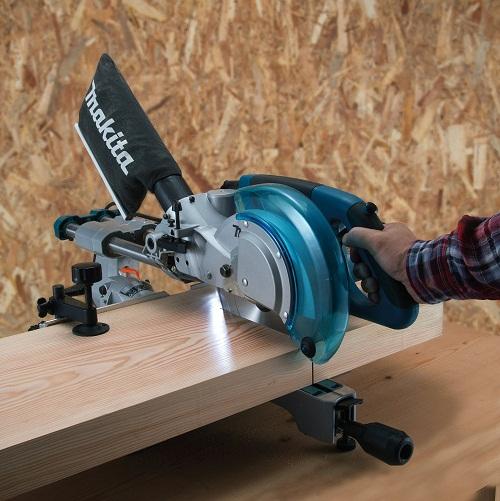 máy cưa góc đa năng laser Makita LS0815FL