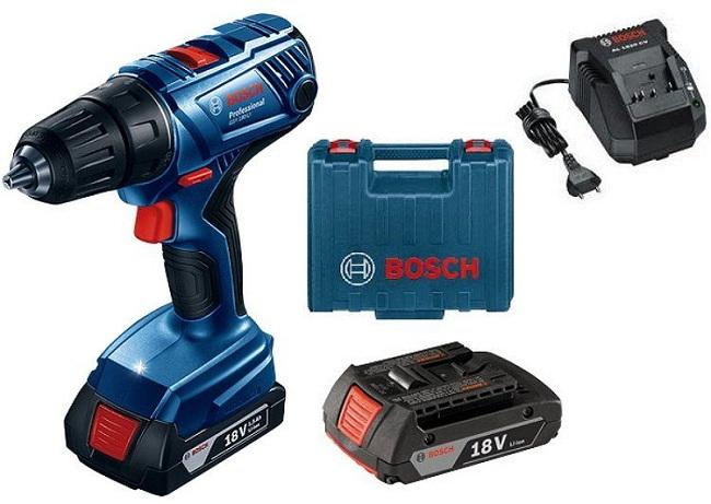 Máy khoan dùng pin giá rẻ Bosch GSR 1000