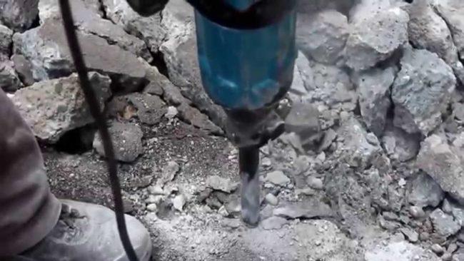 máy đục bê tông