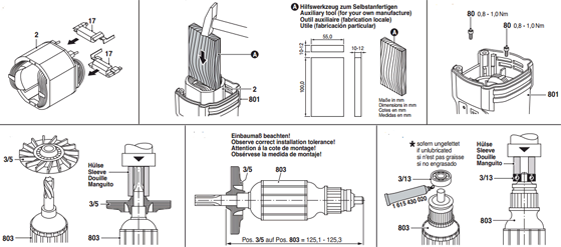 Quy trình lắp máy đục bê tông