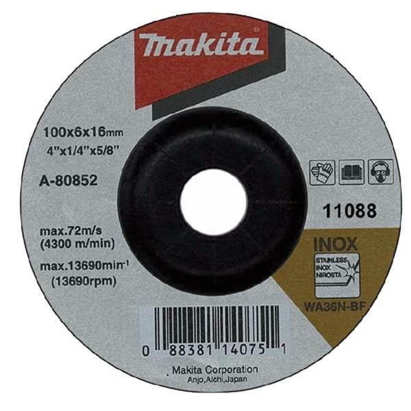 Bộ 3 đá mài Inox 100mm Makita A-80852