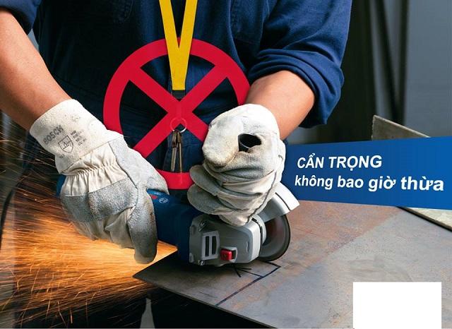 Lưu ý sử dụng máy khoan sắt Makita