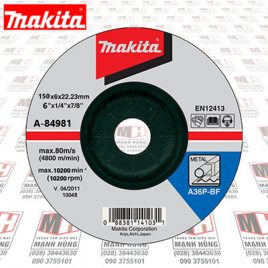 da mai sat makita A84981 150x6x22mm