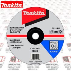 da mai sat makita D18471 180x6x22mm