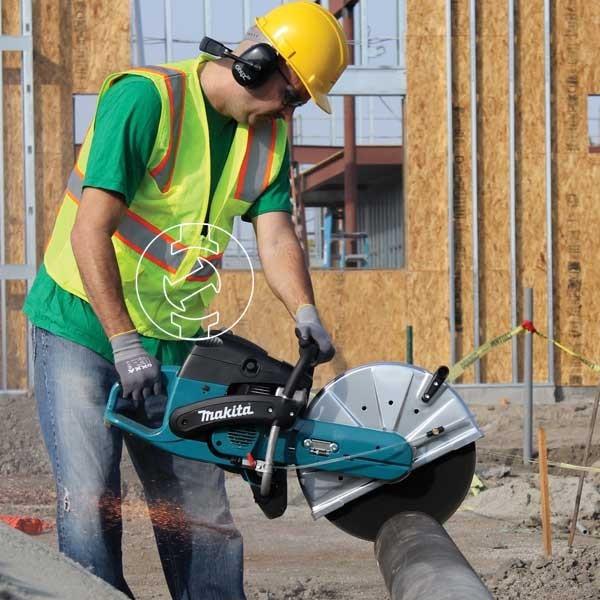Sử dụng máy cắt bê tông an toàn