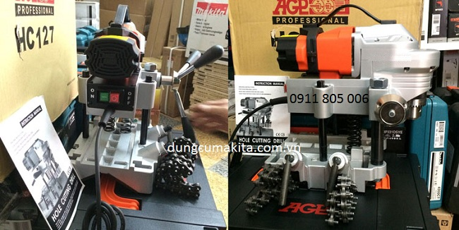 phu kien may khoan lo tren ong AGV-HC127