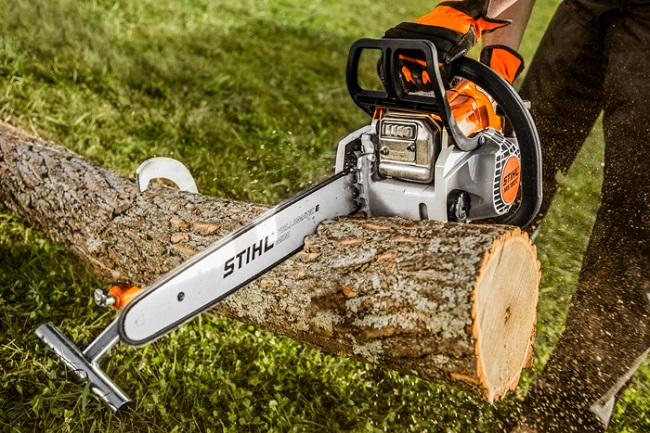 may cua xich chay xang STIHL MS-180