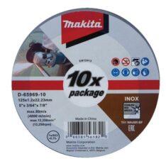 Đá cắt inox mỏng Makita D-65969-10
