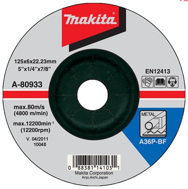 Bộ 12 Đá mài cho kim loại Makita (có bán lẻ)