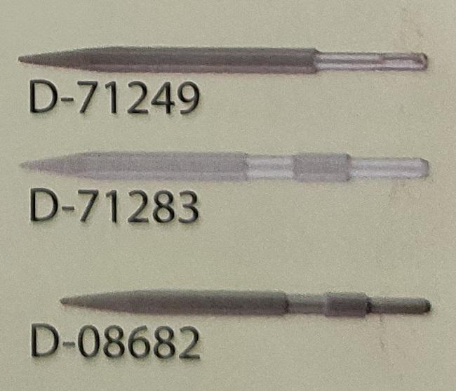 Bộ 3 Mũi đục nhọn Makita SDS-Plus và 17mm (có bán lẻ)