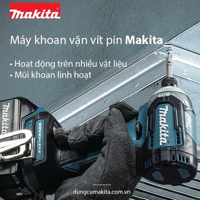 May khoan van vit pin thuong hieu Makita