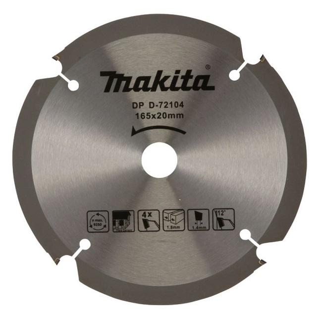 Lưỡi cưa xi măng sợi Makita D-72104