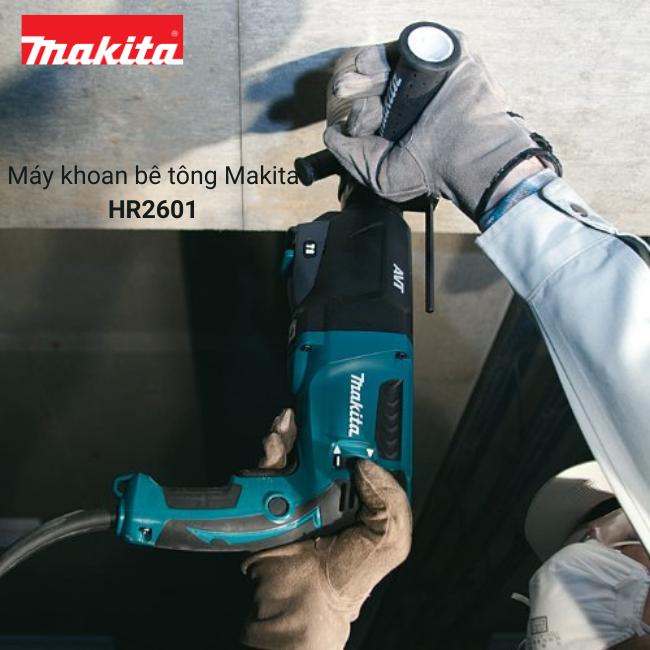 May khoan be tong Makita HR2601