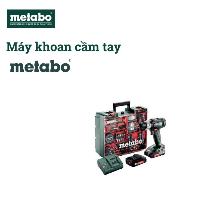 May khoan pin metabo